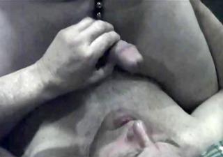 Grandpa silver daddy bear sucking cock