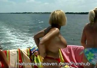 Grannys Yacht Orgy Part 4