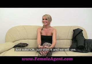 femaleagent lets wank jointly