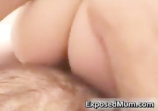 Mother wearing pantyhose penetrated part5