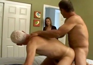 Mature MMF Bisexual Threesome